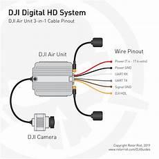 dji digital hd fpv system dji air unit wire pinout diagram rotor riot store