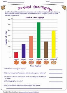 2nd grade math worksheet bar graphs bar graph worksheets