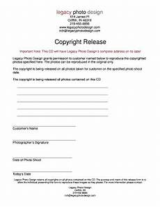 photograph copyright release form forms and templates fillable forms sles for pdf word