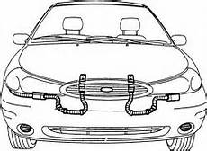 airbag deployment 1995 ford contour free book repair manuals 2006 volvo s80 2 5l turbo dohc 5cyl repair guides air bag supplemental restraint system
