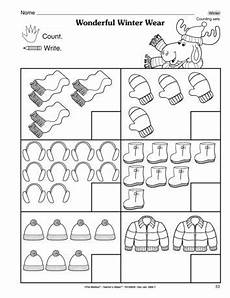 winter graphing worksheets kindergarten 20011 this for winter math worksheet gives students practice counting sets of winter wear a