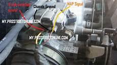 honda civic map sensor wiring dtc p1129 how to service an accord map sensor