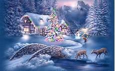 winter scenery hd wallpaper