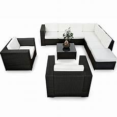 xinro xxxl polyrattan 25tlg lounge set g 252 nstig 2x 1er