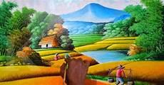 18 Lukisan Pemandangan Jalan Rudi Gambar