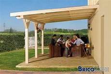 pergola en bois couverte plan pergola bois couverte