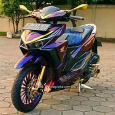 Variasi Lu Vario 150 by Modifikasi Vario 150 Hitam Cat Bunglon Aung Myo Thant