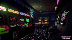 New Retro Arcade Tech Demo HTC Vive Gameplay  YouTube