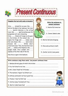 grammar worksheets present continuous tense 24932 present continuous tense esl worksheets for distance learning and physical classrooms