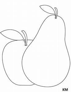 Ausmalbilder Apfel Und Birne Birne Ausmalbilder Ausmalbilder Ausmalen Bilder