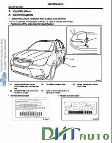 free automotive manuals subaru forester sj 2013 service manual