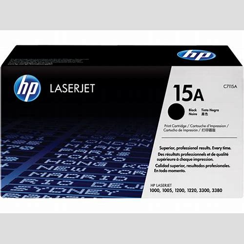 HP Toner C7115A Black 15A
