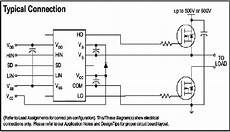 5 typical connection for ir2110 mosfet driver download scientific diagram