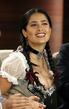 Salma Hayek Dirndl - tales from the kryptonian happy belated birthday salma