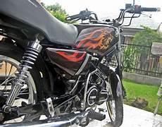 airbrush rx king warna hitam gambar modifikasi motor rx king warna hitam modifikasi