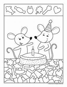birthday object worksheet 20250 mice objects activity woo jr activities