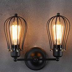 american countryside vintage industrial loft metal rustic sconce wall light new