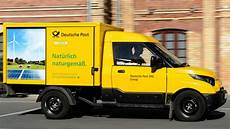 electrified postal delivery 25 electric vans to be used
