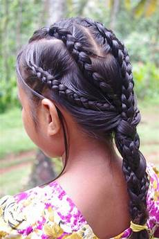braids hairstyles for super long hair micronesian girl multi dutch braids