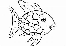 free rainbow fish template free clip free