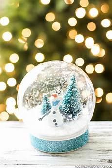 Last Minute Geschenk Ideen Schneekugeln Selber Machen
