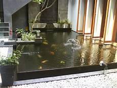 Desain Membuat Kolam Ikan Minimalis Gambar Rumah Idaman