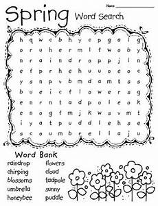 springtime word search by perfectly primary printables teachers pay teachers