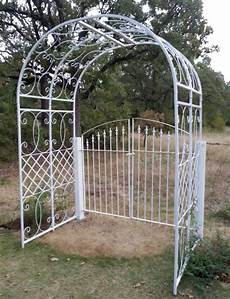 custom made metal arbor gate