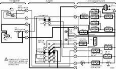 heat trace wiring diagram wiring tracing the heat 2 and anticipation and aux heat led circuit for t874 and q674