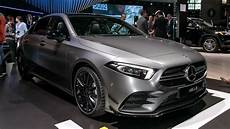 mercedes m class 2020 2020 mercedes amg a35 sedan debuts sets it sights on america