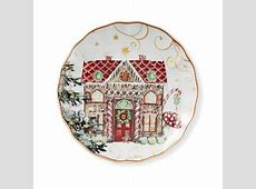 'Twas The Night Before Christmas Salad Plates, Gingerbread