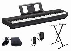Yamaha P45b Digital Piano With Single X Keyboard Stand Ebay