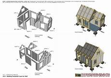 insulated dog house plans dh300 insulated dog house plans construction dog house