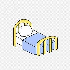 Tempat Tidur Kartun Perawat Hari Yang Ditarik Tangan Png