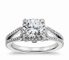 lhuillier halo diamond engagement ring in platinum