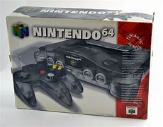 new n64 console nintendo 64 smoke grey console n64 brand new in original