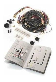 Vw Type1 Bug Complete Usa Spec Wiring Harness 1965 Only