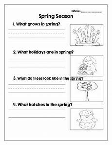 four seasons worksheets for grade 2 14879 4 seasons worksheets with questions about fall winter and summer