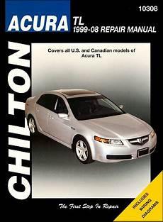 download car manuals 1999 acura tl auto manual acura tl repair service manual 1999 2008 chilton 10308