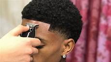 haircut tutorial afro taper blowout by 16 year old barber youtube