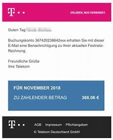 viruswarnung e mail mit telekom rechnungonline f 252 r