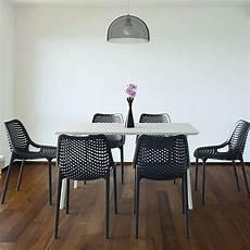 chaise haute moderne chaise moderne ajour 233 e en polypropyl 232 ne air 4 pieds