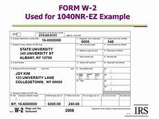 sle of w2 form completed glendale community