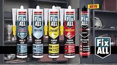 soudal fix all sealants and adhesives