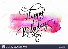 Aquarell Malvorlagen Happy Birthday Abstract Watercolor Background In And Text Happy
