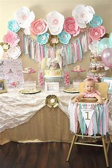 1st birthday decoration themes a pink gold carousel 1st birthday in 2020