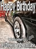 Happy Birthday Race Car Racecar OK For Man