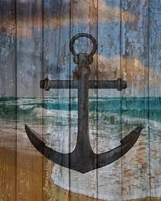 rustic nautical wall art boat anchor ocean bedroom bathroom decor picture in home garden home