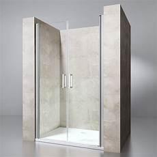 Duschabtrennung Für Nische - nische duschwand duscht 252 r mit pendelt 252 r esg glas und nano