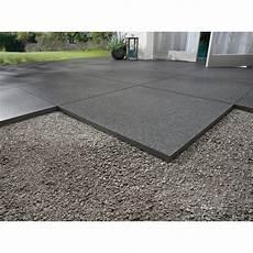 terrassenplatte feinsteinzeug schwarz 60 cm x 60 cm 2